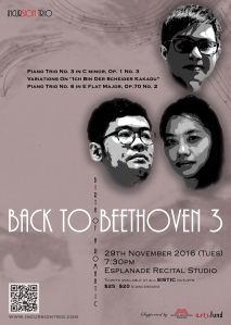 Back to Beethoven 3 - A5 Advertisement