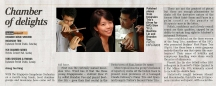 The Straits Times, LIFE! Page C7 | 18th August 2009 (Tuesday) Reviewer: Chang Tou Liang